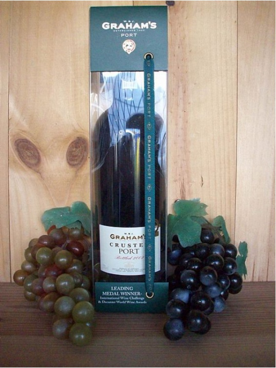 Grahams  Fine Crusted Port (Gift boxed) Bottled 2011/12