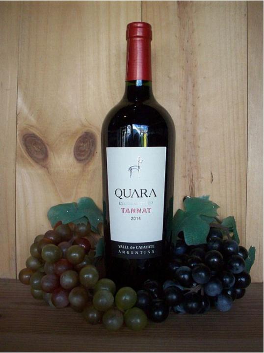 Quara Estate Bottled Tannat Red (Cafayate) 2019