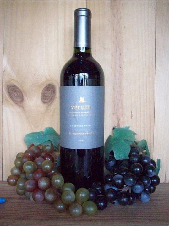 Verum Seleccion De Familia Cabernet Franc Red (Patagonia) 2012/14
