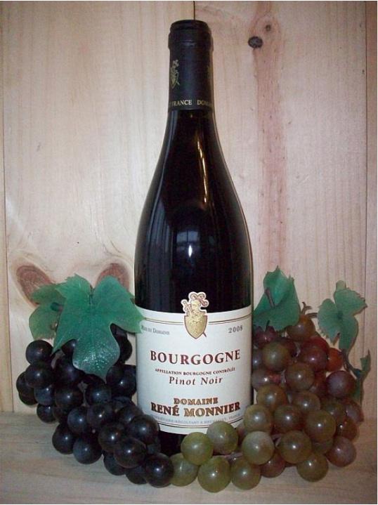 Bourgogne Pinot Noir Domaine Rene Monnier (Maconnais) (Burgundy) 2015/16