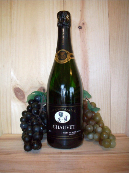 Philippe Brugnon Premier Cru Chauvet Non Vintage Champagne (Dry) (Brut)