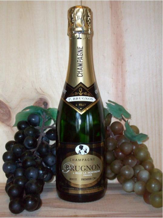 Philippe Brugnon Premier Cru Non Vintage Champagne Dry (Brut) 37.5cl