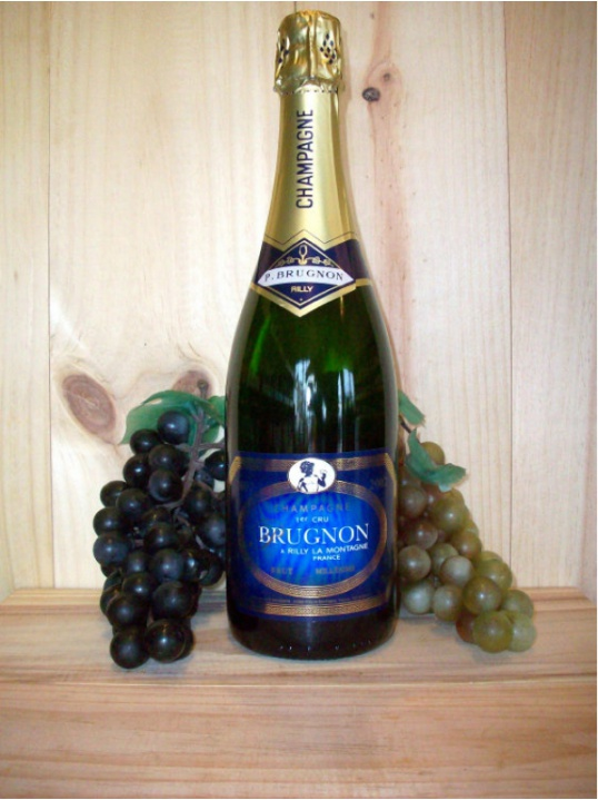 Philippe Brugnon Premier Cru Vintage Champagne Dry (Brut) 2013