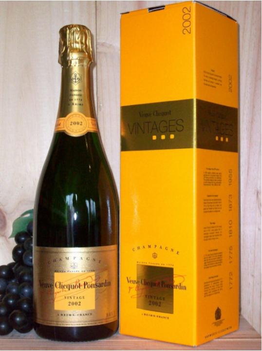 Veuve Clicquot Vintage Reserve Champagne Dry (Brut) (Gift Boxed) 2004/08