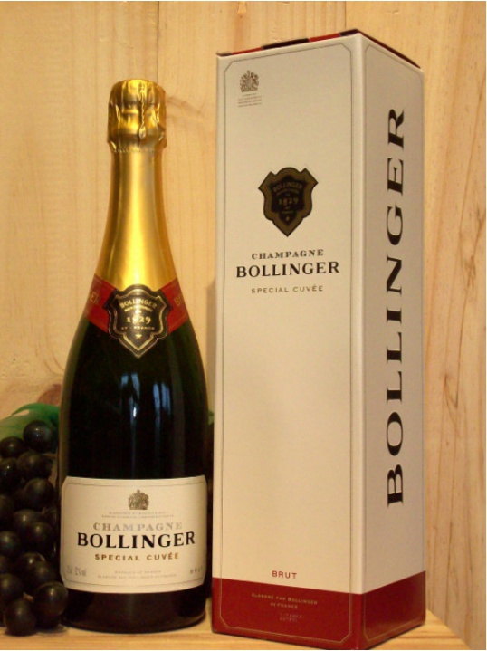 Bollinger Special Cuvee Non Vintage Champagne Dry (Brut) (Gift Boxed)