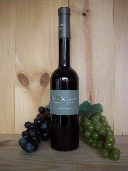 Reserva Familia Pedro Ximenez Bodegas Virgen Sweet desert wine (Malaga) 50cl