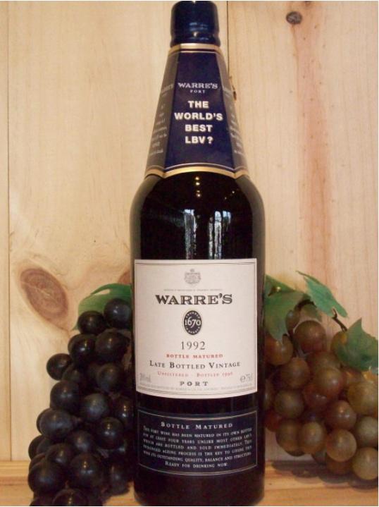 Warre's Late Bottled Vintage Port (Traditional Bottled Matured) 2004