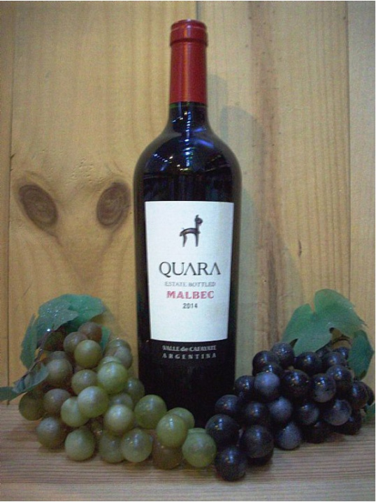 Quara Estate Bottled Malbec Red (Cafayate) 2017