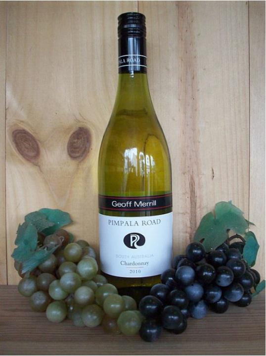 Pimpala Road Chardonnay White (Geoff Merrill) (McClaren Vale) 2012/13