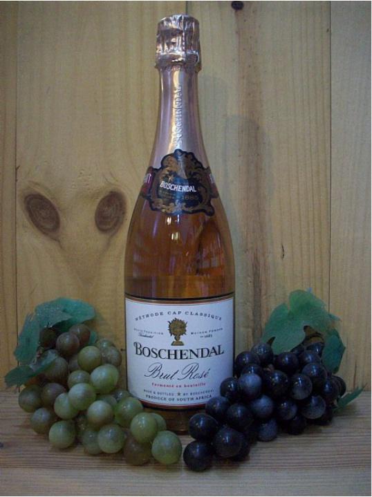 Boschendal estate Sparkling Rose Dry Brut NV