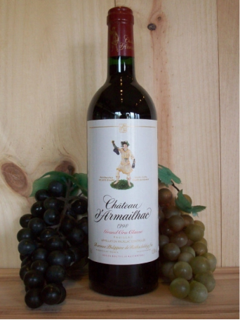 Chateau D'Armailhac Rothschild (5th Growth Grand Cru Classé)(Pauillac)(Bordeaux) 2004/05