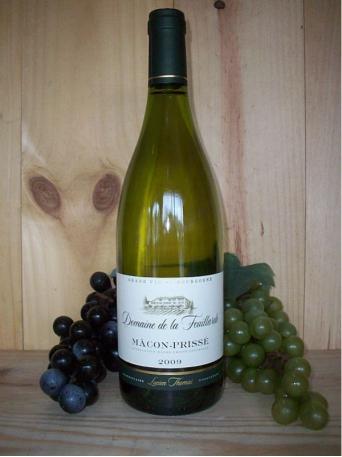 Macon Blanc Charnay  Domaine de la Feuillarde (Maconnais) (Burgundy) 2018