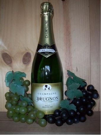 Philippe Brugnon Premier Cru Non Vintage Champagne Dry (Brut)