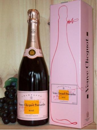 Veuve Clicquot Non Vintage Rosé Champagne Dry (Brut) (Gift Boxed)