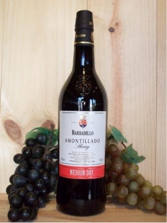 Amontillado Sherry (Medium Dry)